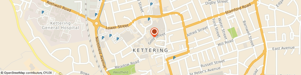 Route/map/directions to H&M, NN16 8JA Kettering, Gold Street