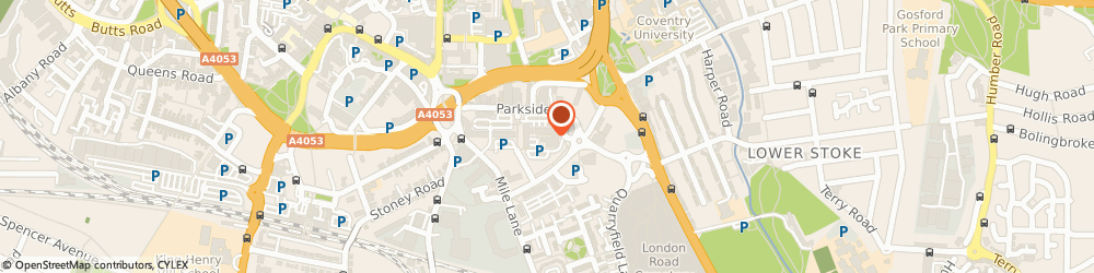 Route/map/directions to INOCARDIA LIMITED, CV1 2TT Coventry, Technocentre Puma Way