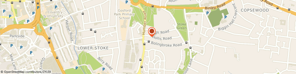 Route/map/directions to Body Perfect, CV3 1AG Coventry, 139a, Hollis Rd