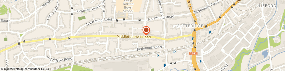 Route/map/directions to Chris Chipps Ltd, B30 1DH Birmingham, 116 Middleton Hall Rd