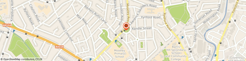 Route/map/directions to Evolve Fitness, CV6 1HR Coventry, 81 Moseley Ave