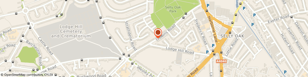 Route/map/directions to SRH Electrical & Security, B29 6QP Birmingham, 86 Gibbins Rd