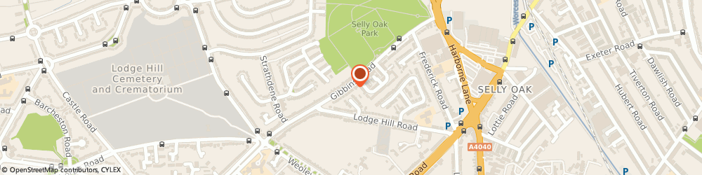 Route/map/directions to E.t Humphries, B29 6PW Birmingham, 117 Gibbins Road