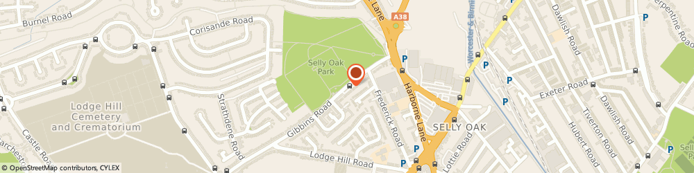 Route/map/directions to Ray Stamps, B29 6PQ Birmingham, 53 GIBBINS ROAD