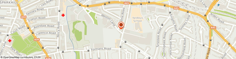 Route/map/directions to WATERSIDE WINDOWS & CONSERVATORIES, B11 3RP Birmingham, 4, Weston Ln