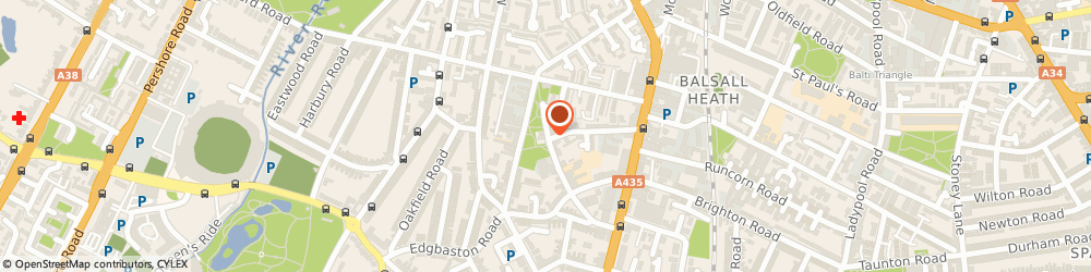 Route/map/directions to The Old Moseley Arms, B12 9QU Birmingham, 53 Tindal St