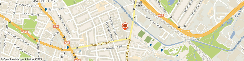 Route/map/directions to Isa Fabrications, B11 1DG Birmingham, 10 Sydenham Rd