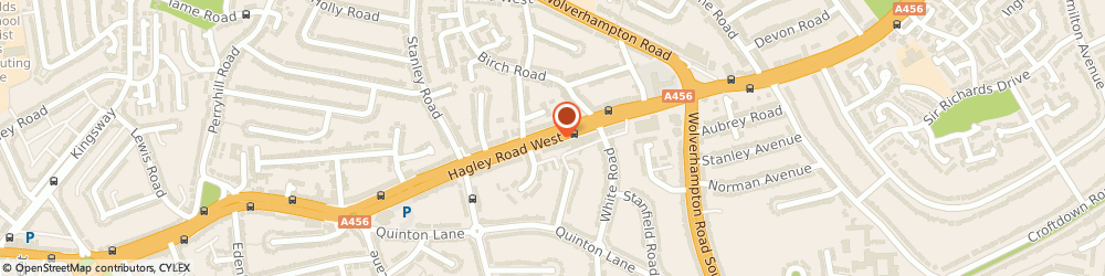 Route/map/directions to Hairs and Graces Extensions Limited, B32 2AD Birmingham, 409 Hagley Rd W