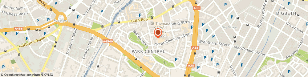 Route/map/directions to Anchor - Kerria Court care home, B15 2DY Birmingham, 64 Cregoe Street