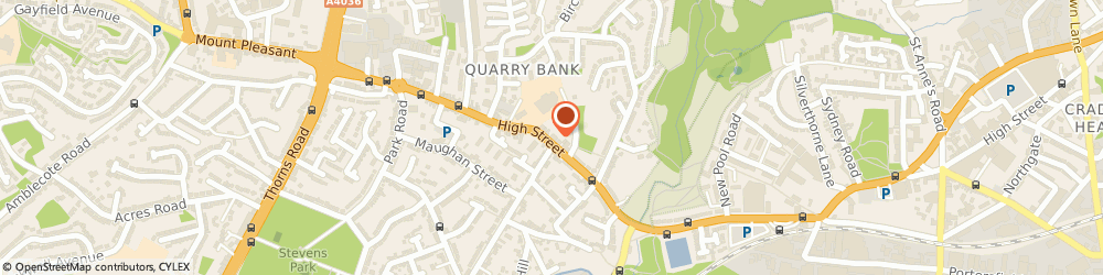 Route/map/directions to Qb Motorcycles, DY5 2AD Quarry Bank, 88-91 High Street