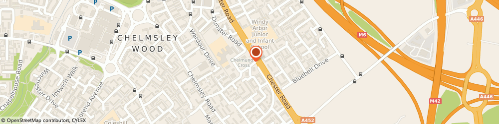 Route/map/directions to E W Book-Keeping & Accountancy, B37 7TP Birmingham, 1, Hedingham Grove