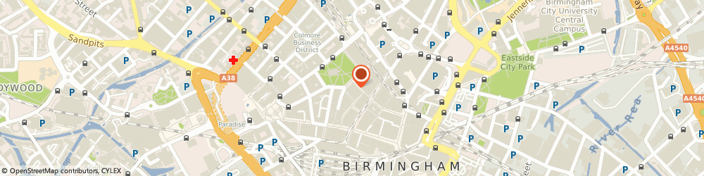 Route/map/directions to Axa Insurance Plc, B2 5AF Birmingham, St Philips Point Temple Row