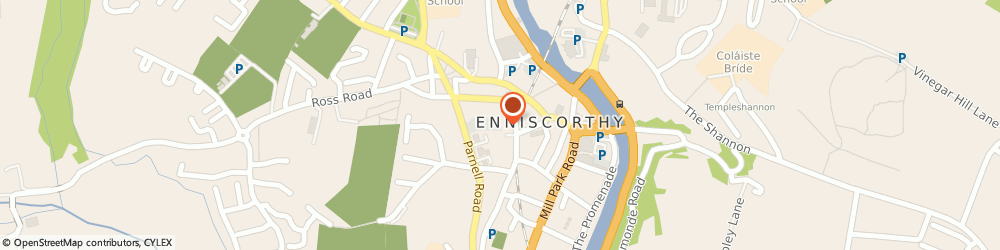 Route/map/directions to Crosbie Funeral Services - IAFD Member,  Enniscorthy, Lymington View