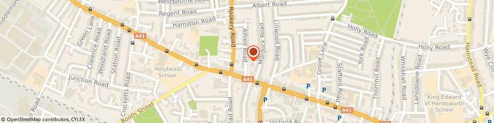 Route/map/directions to Clout Softech Ltd, B21 9NG Birmingham, 48 Alfred Road