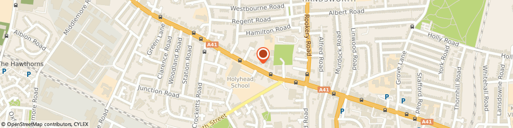 Route/map/directions to Clough House Residential Home Limited, B21 0LT Birmingham, 14 HOLYHEAD ROAD
