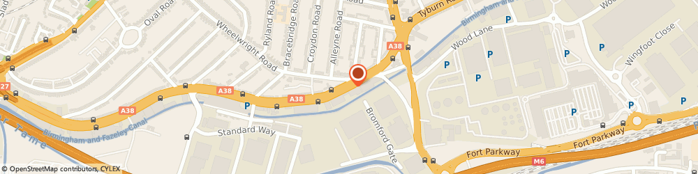 Route/map/directions to Goodens Coach Travel, B24 8NB Birmingham, 315 Tyburn Road