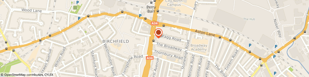 Route/map/directions to JM Wilson Solicitors, B20 3BX Birmingham, 299-301 Birchfield Road