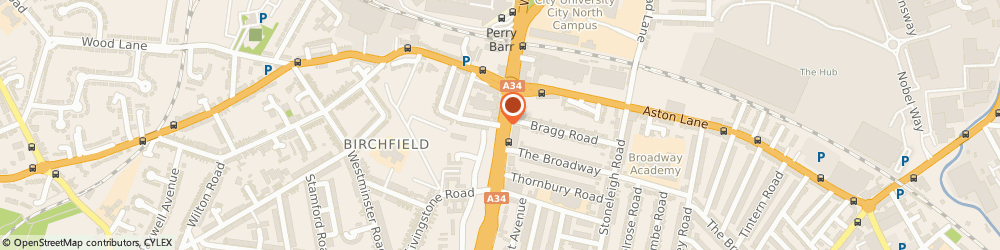 Route/map/directions to SME Web Solutions Limited, B20 3DD Birmingham, 287 Birchfield Road