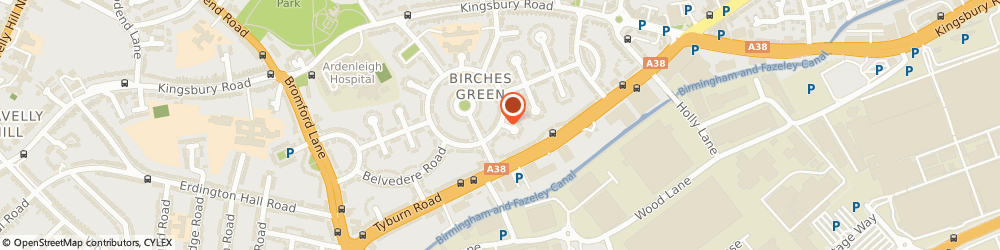 Route/map/directions to Pro Windows, B24 9SN Birmingham, 168 ROUND ROAD