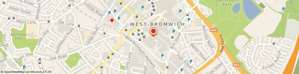Route/map/directions to Timpson Ltd, B70 7QG West Bromwich, 102 High St, Kings Square