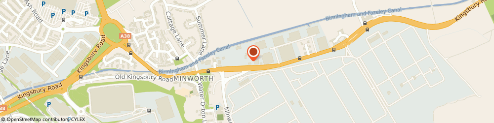 Route/map/directions to Centra-Heat (W'ton) Ltd, B76 9DD Sutton Coldfield, Trinity House Kingsbury Road, Minworth