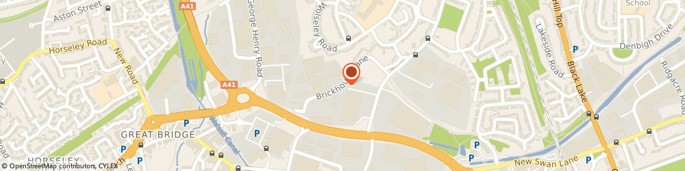 Route/map/directions to TRAD Hire & Sales, B70 0DY West Bromwich, Brickhouse Lane