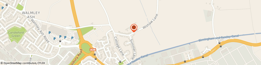 Route/map/directions to Element Home & Security, B76 9AR Sutton Coldfield, 5 Wishaw Lane