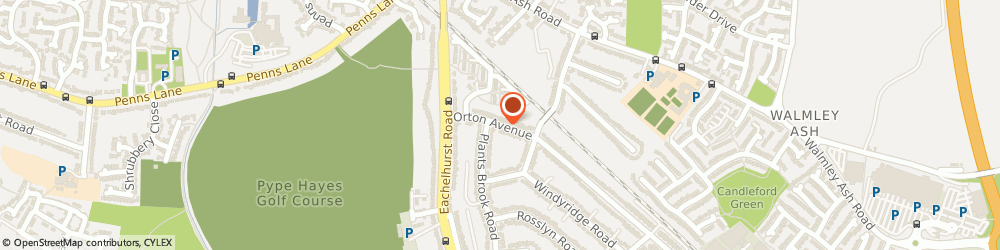 Route/map/directions to Mark Rutter, B76 1JP Sutton Coldfield, 6 Orton Ave