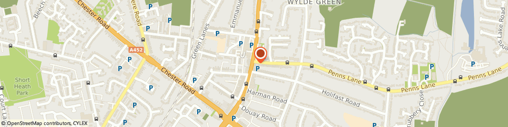 Route/map/directions to OTTOMAN SUITE BARBER SHOP LTD, B72 1AU Sutton Coldfield, 405 Birmingham Rd