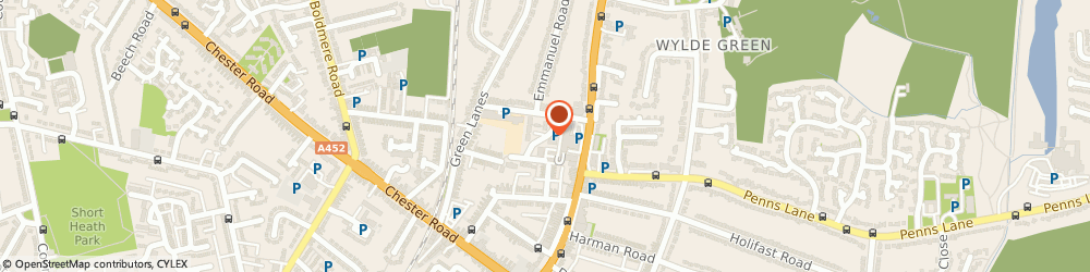 Route/map/directions to Sutton Support Services Limited, B73 5NE Sutton Coldfield, 0 Emscote Drive