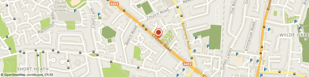 Route/map/directions to Spikes Gas, B73 5BS Sutton Coldfield, 444 Chester Rd