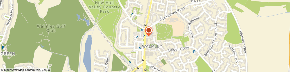 Route/map/directions to The House Of Sun, B76 1QN Sutton Coldfield, 30 Walmley Rd