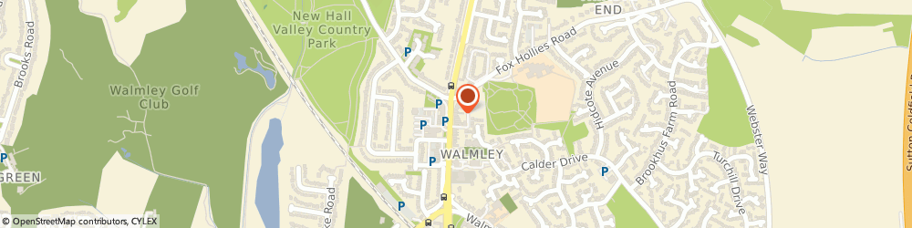 Route/map/directions to One Stop Walmley Road, B76 1QN Sutton Coldfield, 38 - 40 Walmley Road
