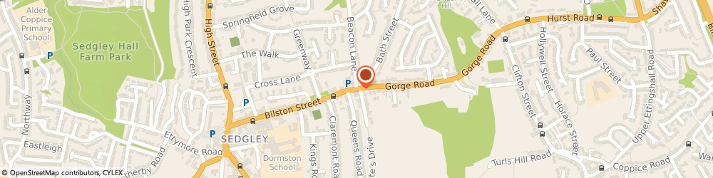 Route/map/directions to LIFE & GENERAL (SEDGLEY) LTD, DY3 1JA Dudley, 1 Bilston Street