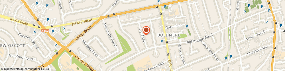Route/map/directions to Rpr (Site Engineering Services) Ltd, B73 5ED Sutton Coldfield, 24, IVY ROAD