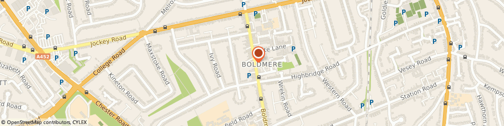 Route/map/directions to Weatherer Bailey Bragg Llp, B73 5UB Sutton Coldfield, 100 Boldmere Rd