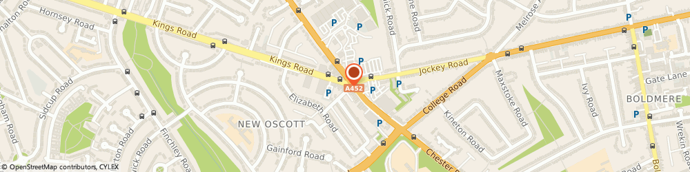 Route/map/directions to Flair Designz, B73 5AB Sutton Coldfield, 5 Kings Rd