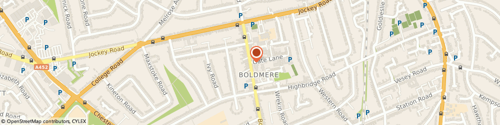 Route/map/directions to IRIE SECURITY SERVICES LTD, B73 5UE Sutton Coldfield, Boldmere Road