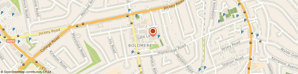 Route/map/directions to Sunlight Windows, B73 5TT Sutton Coldfield, Lloyd House, Gate Lane