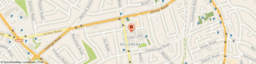 Route/map/directions to Napkins Online, B73 5TN Sutton Coldfield, Union House,1 Union Drive
