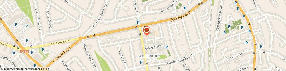 Route/map/directions to Timpson, B73 5UY Sutton Coldfield, 27 Boldmere Road