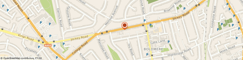 Route/map/directions to Kidderminster Care Limited, B73 5XE Sutton Coldfield, 335 Jockey Road