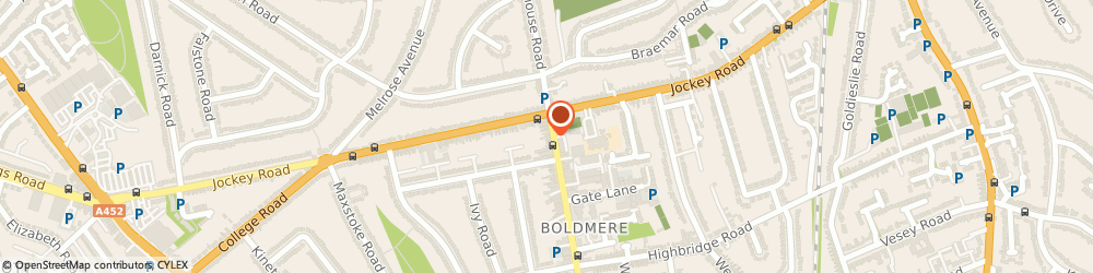 Route/map/directions to Boldmere Therapy Centre, B73 5TD Sutton Coldfield, 12 BOLDMERE ROAD