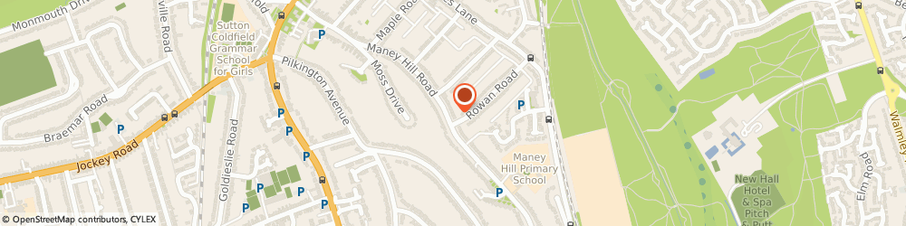 Route/map/directions to Anderton & Co Accountants Ltd, B72 1JT Sutton Coldfield, 93 Maney Hill Rd