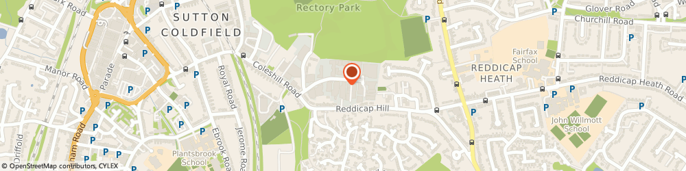 Route/map/directions to R.p Publishing, B75 7BU Sutton Coldfield, 15 Reddicap Trading Estate