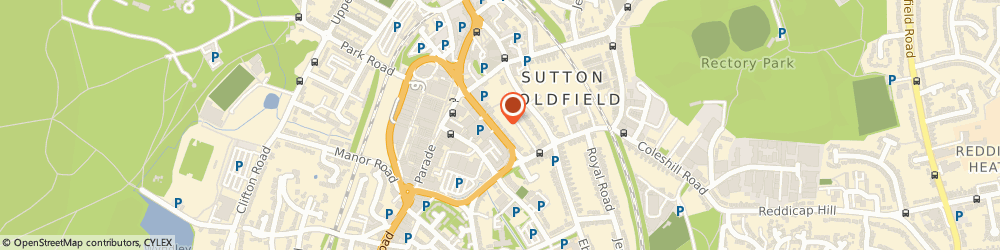 Route/map/directions to Inspired Business Vision Limited, B72 1SY Sutton Coldfield, 10 Wrens Court, 48 Victoria Road