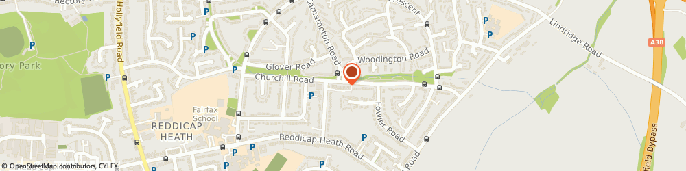 Route/map/directions to Churchill Florist, B75 7LD Sutton Coldfield, 29, CHURCHILL PARADE, FALCON LODGE
