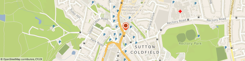 Route/map/directions to Mr.richard Benton Sutton Coldfield, B72 1UX Sutton Coldfield, 24 HIGH ST