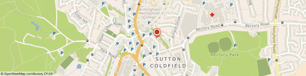 Route/map/directions to Simon Karl Estate Agents, B72 1TU Sutton Coldfield, Midland Drive