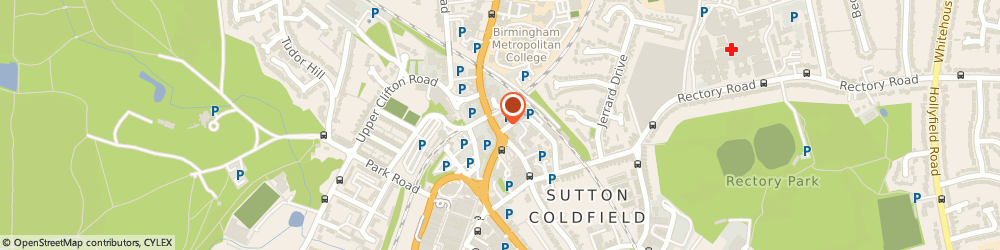 Route/map/directions to Mrs Helen Begg - Psychotherapist, B72 1UP Sutton Coldfield, 24 HIGH STREET